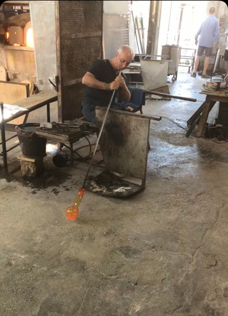 Traditional Glass Blowing In Murano