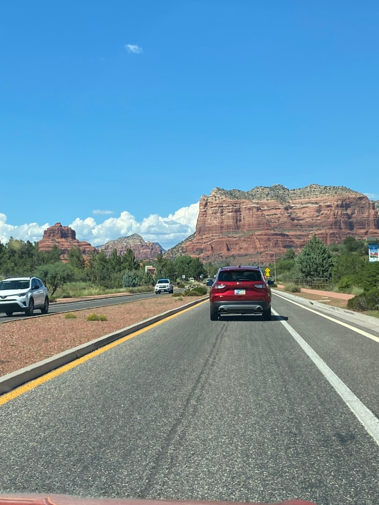 Highway 179, also known as the Red Rock Scenic Byway